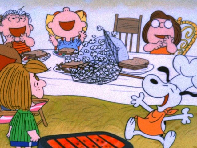 Which holiday/special occasion was never the focus of a Charlie Brown TV special?
