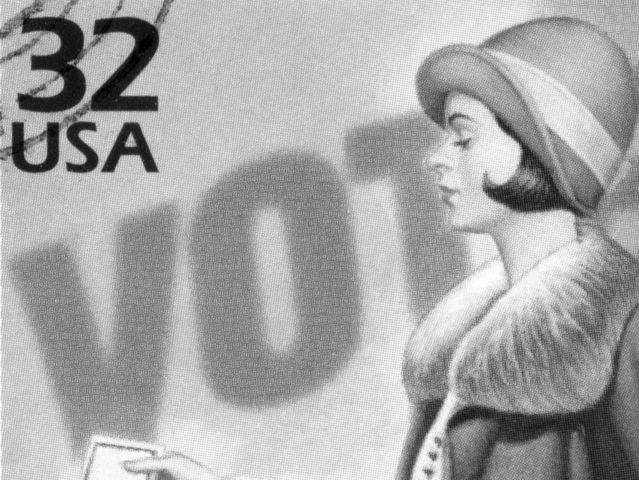In what year did women gain the right to vote?