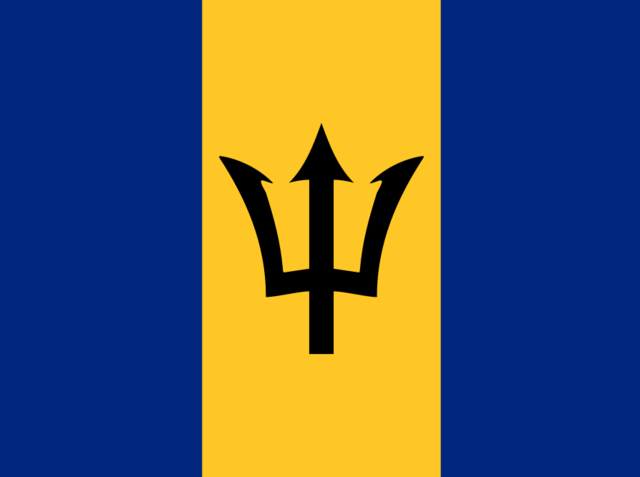 The official language of Barbados is . . .