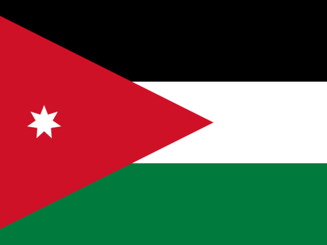 The official language of Jordan is . . .