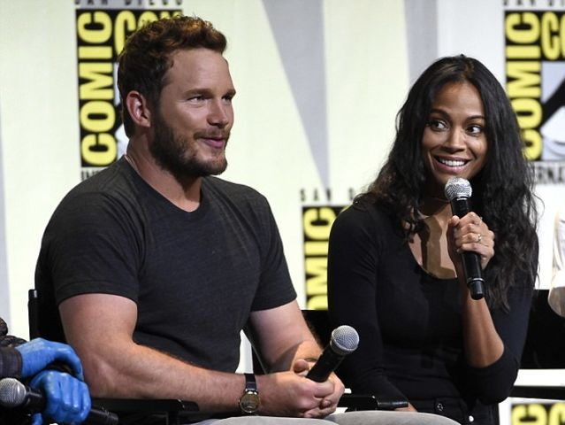 Pratt auditioned for and lost out on the lead roles in both Avatar and Star Trek before finally starring with Saldana in Guardians.