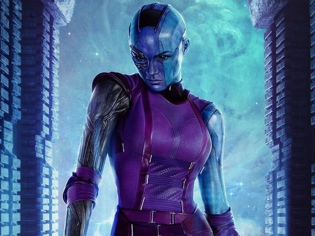In the film Nebula is the daughter of Thanos, but in the comics what is her relation to him?