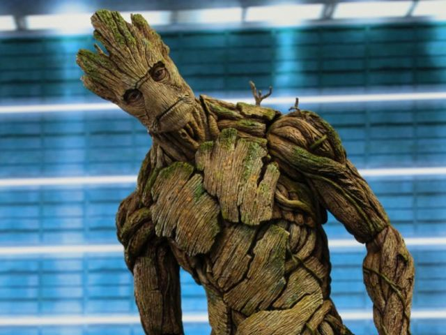 """Groot"" is a real word in 3 different languages, what does it translate to?"