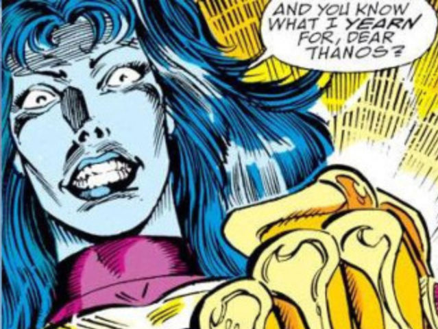 Thanos and granddaughter Nebula have a long and twisted relationship in the comic book world.