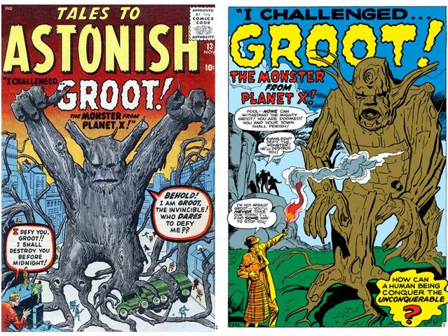 Groot first appeared Tales To Astonish #13 in November 1960.