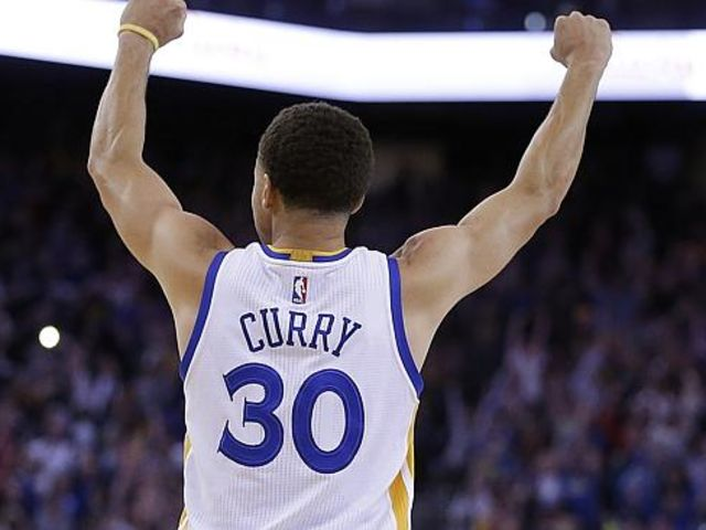Stephen Curry! Lest we not forget Who the MVP of the current season is, but maybe this is because everybody already has a LeBron jersey lol!