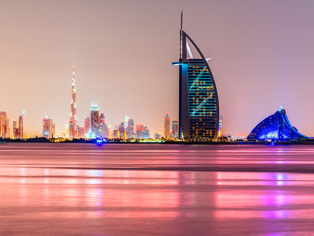 Dubai! Did you get it right?  Home to the third tallest building in the world which is also rather fittingly home to the only 7-star hotel in the world too.    They also have bog-standard 5 star hotels too.  Check out the best 10 the city has to offer here:   http://top10.co/gwmzsvj