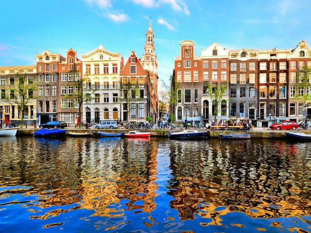 Amsterdam! The city where two wheels and water are the preferred methods of transport, Amsterdam is vibrant, cultured and above all full of fun!   See it for yourself - here's our Top 10 Amsterdam hotels:   http://top10.co/g5m9KRC