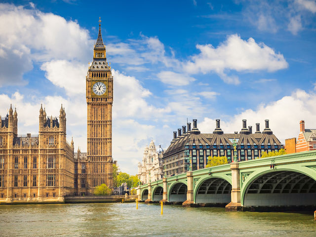 It's London! England's capital city, home to Big Ben, The Shard, red buses and inclement weather.   Don't let a bit of drizzle put you off, here's the Top 10 London hotels:   http://top10.co/gO30lw0