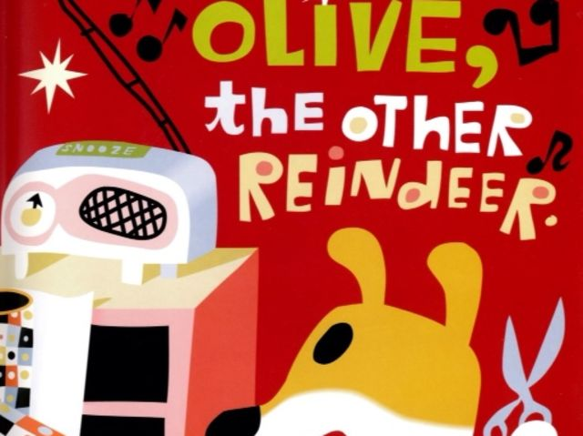 Olive the Other Reindeer was written by Vivian Walsh!