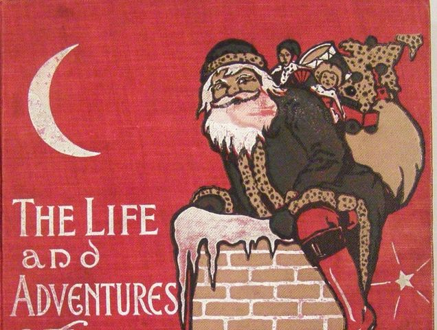 Who wrote The Life and Adventures of Santa Claus?