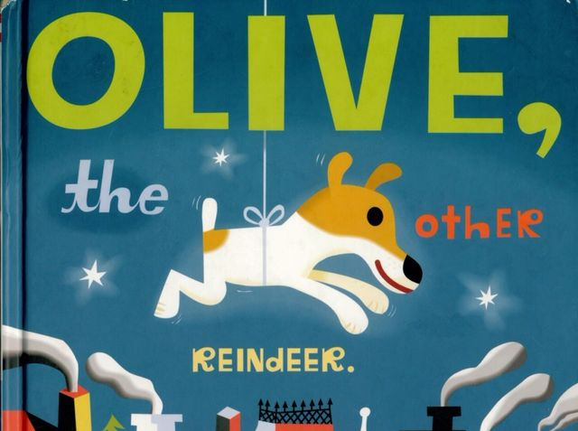 Who wrote Olive, the Other Reindeer?
