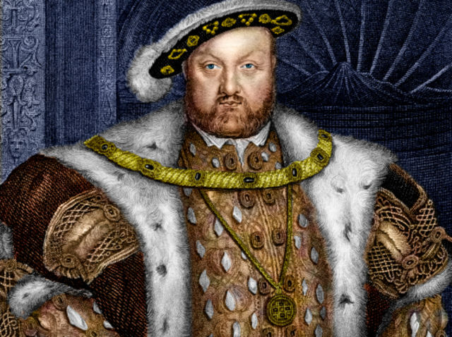 Henry VIII married this amount of times: