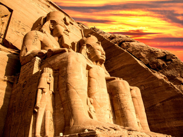 Ancient Egypt was conquered in 30 B.C. by which Empire?