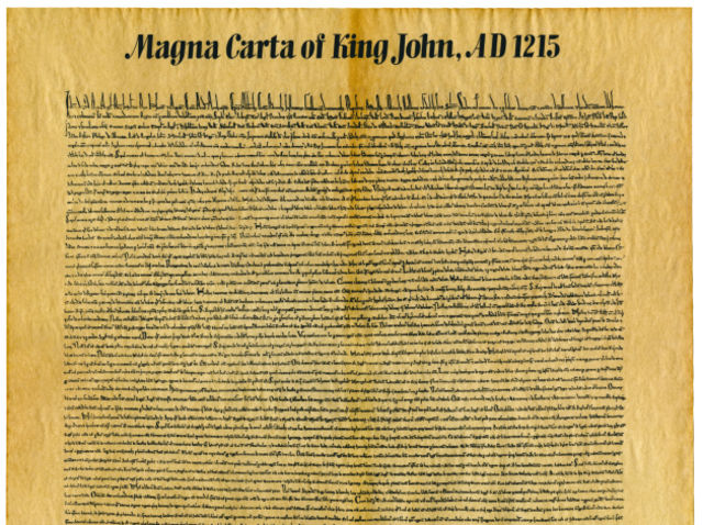 Which country did the Magna Carta originate in?