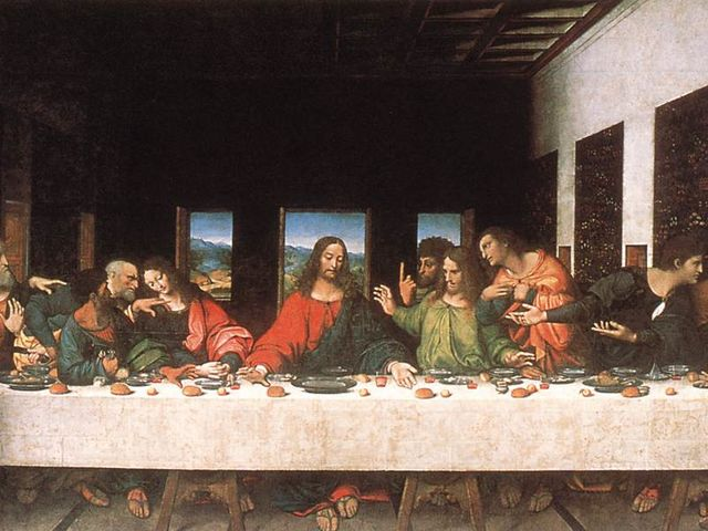 During the last supper, what did Peter protest Jesus doing?