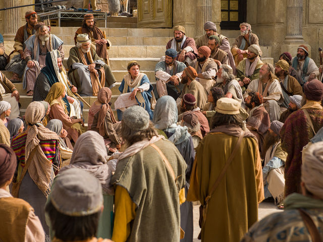 How old was Jesus when he became lost on the family's visit to Jerusalem?