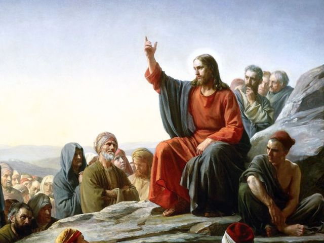 During the Sermon on the Mount, Jesus gives these blessings