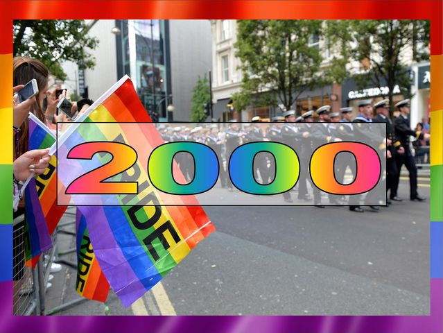It was made legal to be LGBT in the British Armed Forces in the year 2000. The Labour Party scrapped the policy barring LGBT people from serving in the Armed Forces.