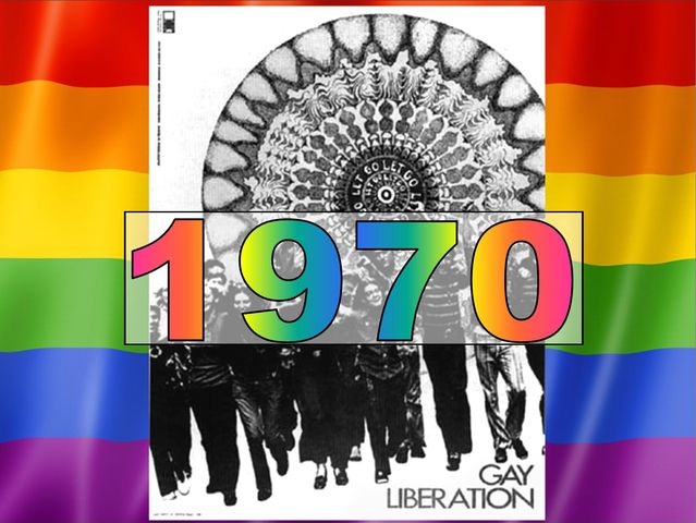 The GLF was founded in 1970 at the London School Of Economics in response to the way Gay men and Lesbians were being treated