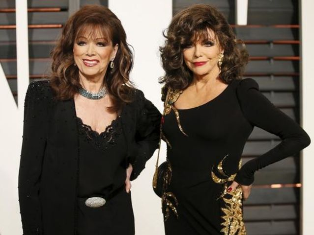 Jackie and Joan Collins became famous as an author and actor. Which sister is still alive?