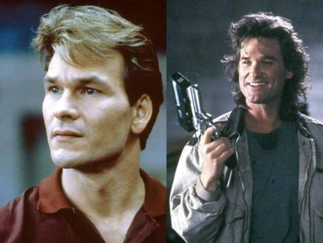 These two rocked mullets back in the day. Which of these two actors is alive?