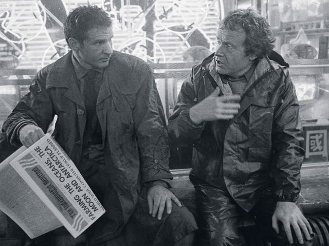 Ridley Scott directed Blade Runner.