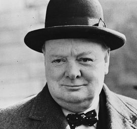 Winston Churchill, British statesman who was the Prime Minister of the United Kingdom from 1940 to 1945 and again from 1951 to 1955