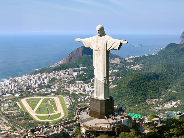 What is the name of this religious landmark in Brazil?