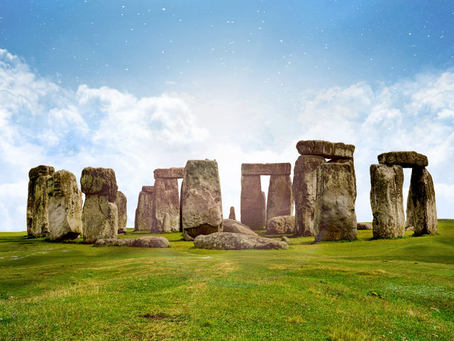 Who constructed these mysterious rock formations known as Stonehenge?