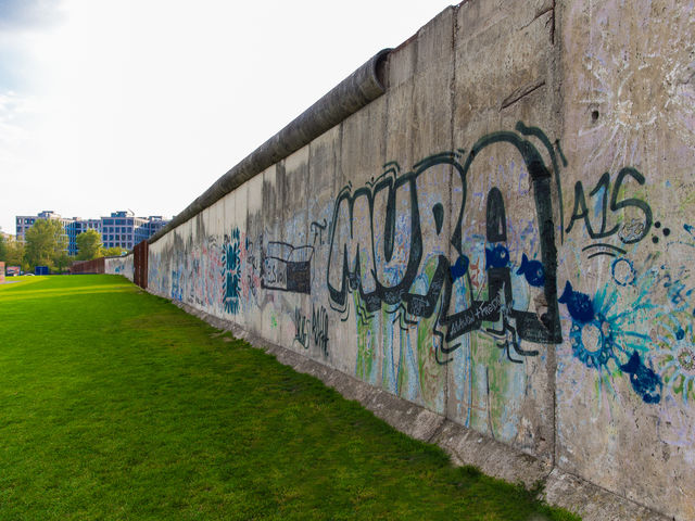 Why was the Berlin wall first built?