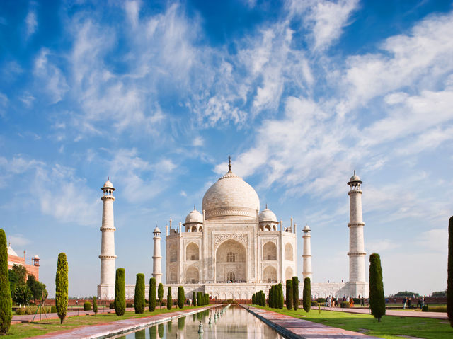 This is the majestic Taj mahal. Where would you need to go to see this beauty?