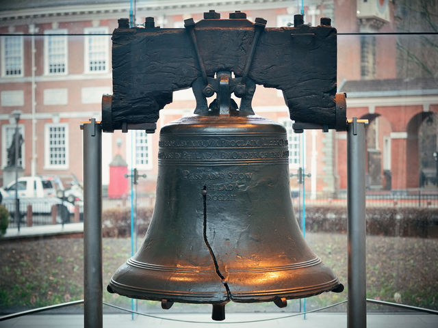 What was the purpose of the Liberty Bell?