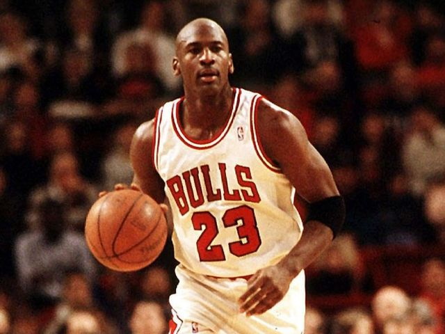 What was Michael Jordan's career-high in points in a Christmas Day game?
