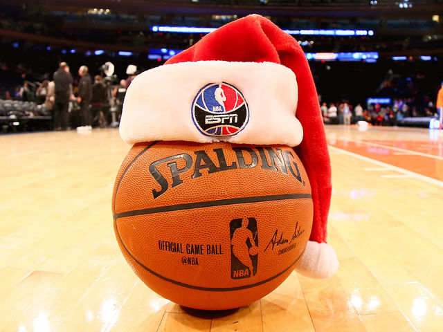 As of 2017, which NBA team has won the most Christmas Day games?