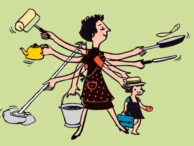 "Do you agree with this statement: ""Housework is most commonly a womanly duty."""
