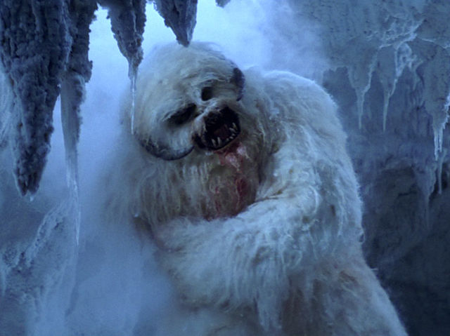 Where might you have the misfortune of crossing paths with a bloodthirsty Wampa?