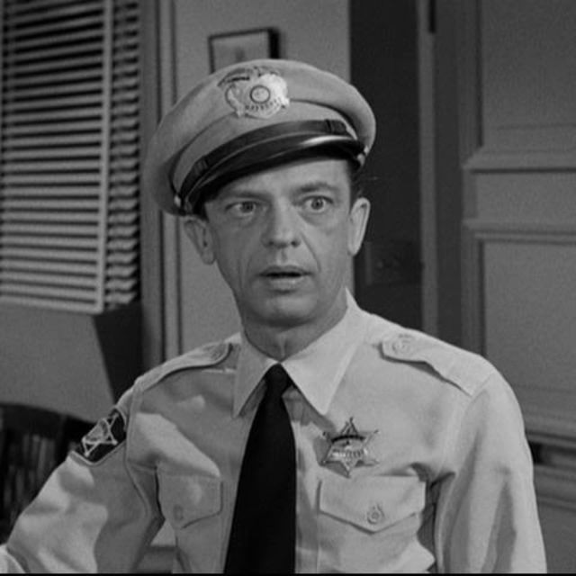 Who most resembles Barney Fife?