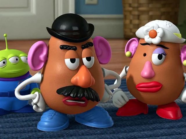 "Mr. Potato Head! ""Hey look, I'm Picasso!"" and ""What're you looking at, yah hockey puck?"" are two of this hilarious character's most famous lines from the original Toy Story."