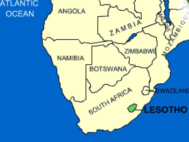 Lesotho is a country located within the country of South Africa in, you guessed it, Africa!