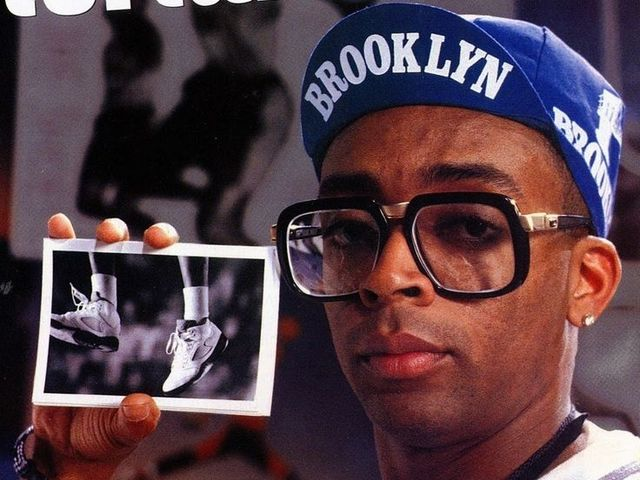 What type of hat is Spike Lee wearing?
