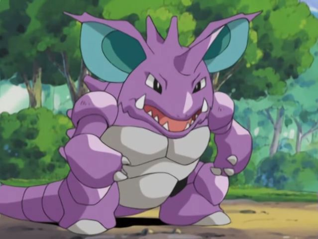 It was Nidoking!