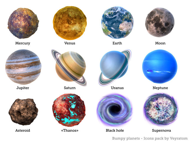 Which is your favorite planet? (Yes, a few of these are not planets lol)