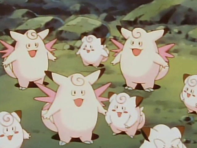 Clefairy is a fairy-type Pokemon. Hopefully, the name was a dead giveaway.