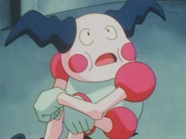 Mr. Mime is both a fairy and psychic type Pokemon!