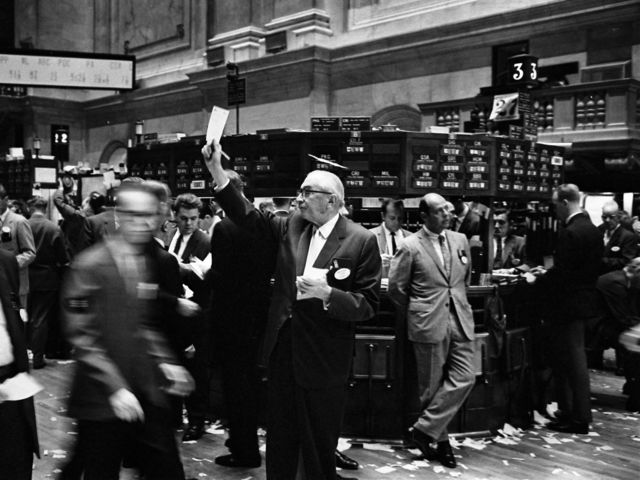 During his presidency, the New York Stock Market crashed.