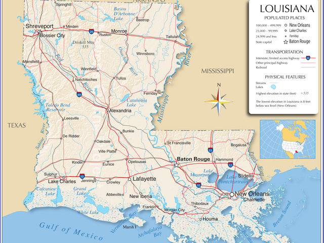 It's Louisiana!