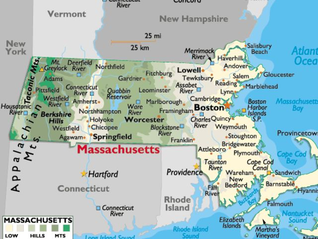 It's Massachusetts!