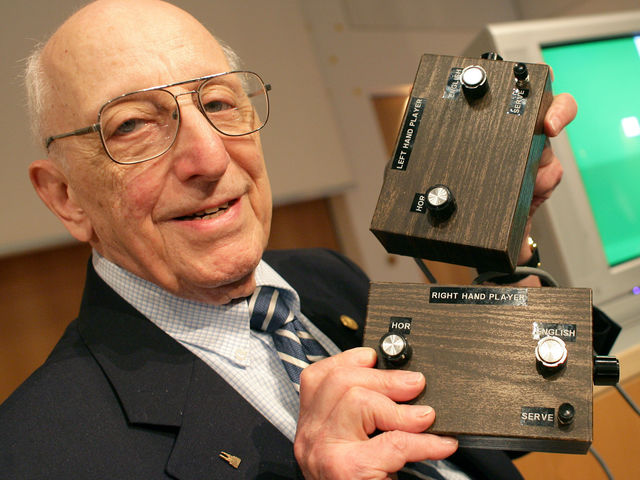 Ralph H. Baer is regarded as 'the Father of Video Games' for his significant contributions to the industry. He passed away in December 2014, aged 92.
