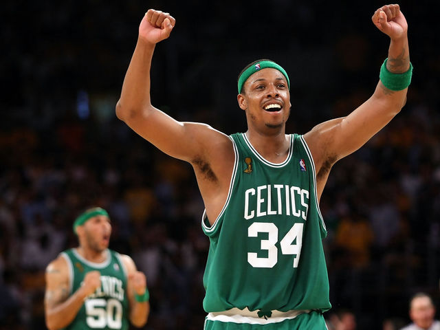 What team did Pierce grow up being a fan of?